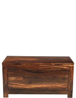 Cube Sheesham Blanket Box