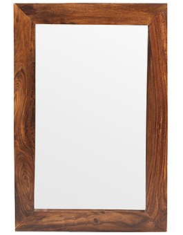 Cube Sheesham Small Mirror