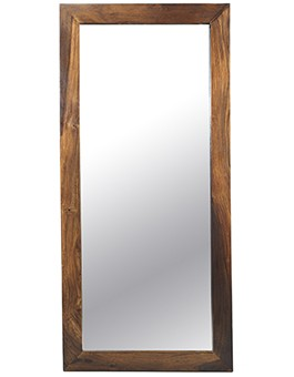 Cube Sheesham Tall Mirror