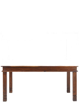 Jali Sheesham 160 cm Chunky Dining Table