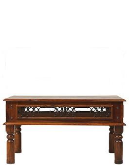 Jali Sheesham 90 cm Coffee Table