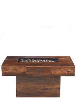 Jali Sheesham Large Pebble Coffee Table