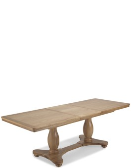 Kilmar Natural Oak Living & Dining Pedestal Ext Dining Table 180/230