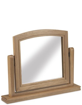 Kilmar Natural Oak Bedroom Dressing Mirror