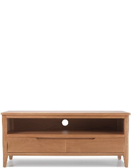 Eklund Oak Plasma TV Unit