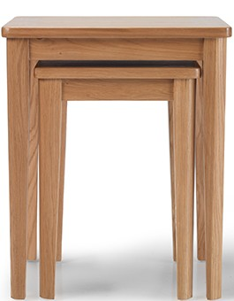 Eklund Oak Nest of 2 Tables