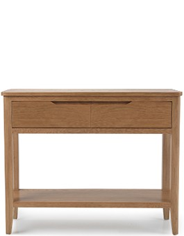 Eklund Oak Console Table