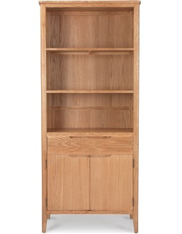 Eklund Oak Tall Bookcase