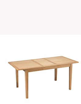 Eklund Oak Extended Dining Table