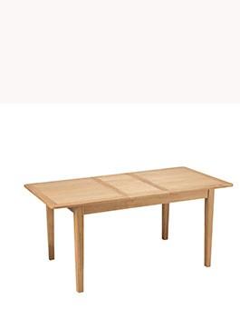 Eklund Oak Extended Dining Table