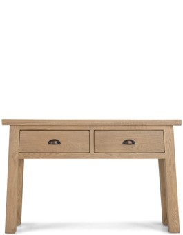 Holloway Rough Sawn Oak Console Table