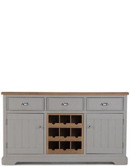 Aldington Painted Large Sideboard Wine Rack