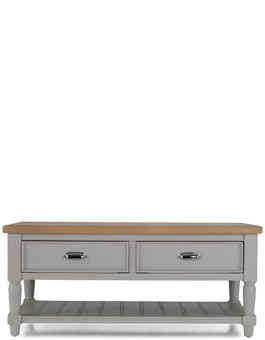 Aldington  Painted  Coffee Table With Drawers