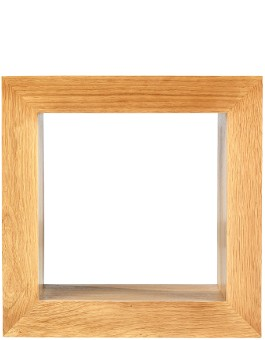 Cube Solid Oak 1 Hole Cube
