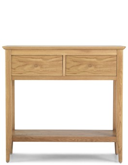 Hayman Oak Console Table