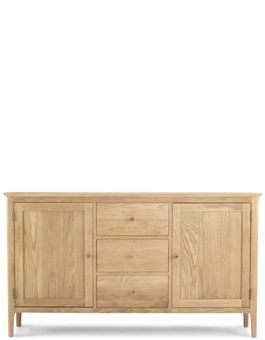 Hayman Oak Large Sideboard 2 Door/ 3 Drawers