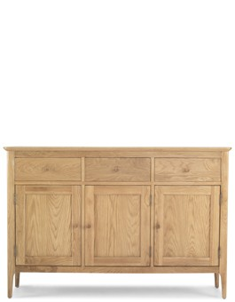 Hayman Oak Large Sideboard 3 Door/3 Drawers