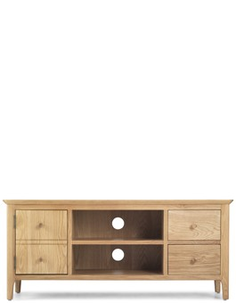 Hayman Oak Widescreen TV Unit