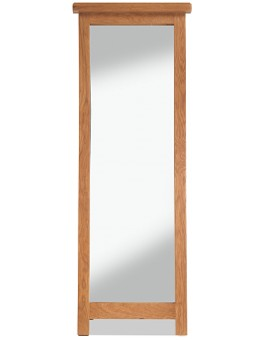 Marton Oak Cheval Mirror