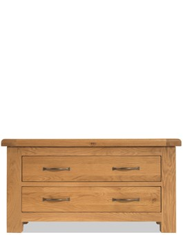 Marton Oak Blanket Box with Drawers