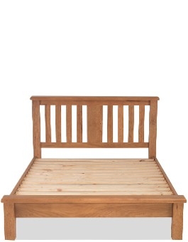 Marton Oak 3ft Single Bed Low Foot