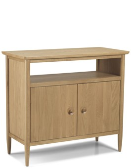 Skiena Oak Open Sideboard