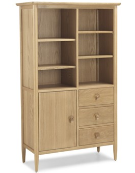 Skiena Oak Display Cabinet