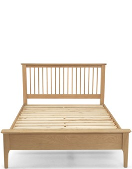 "Kassay Oak 4'ft 6"" Double Bed"
