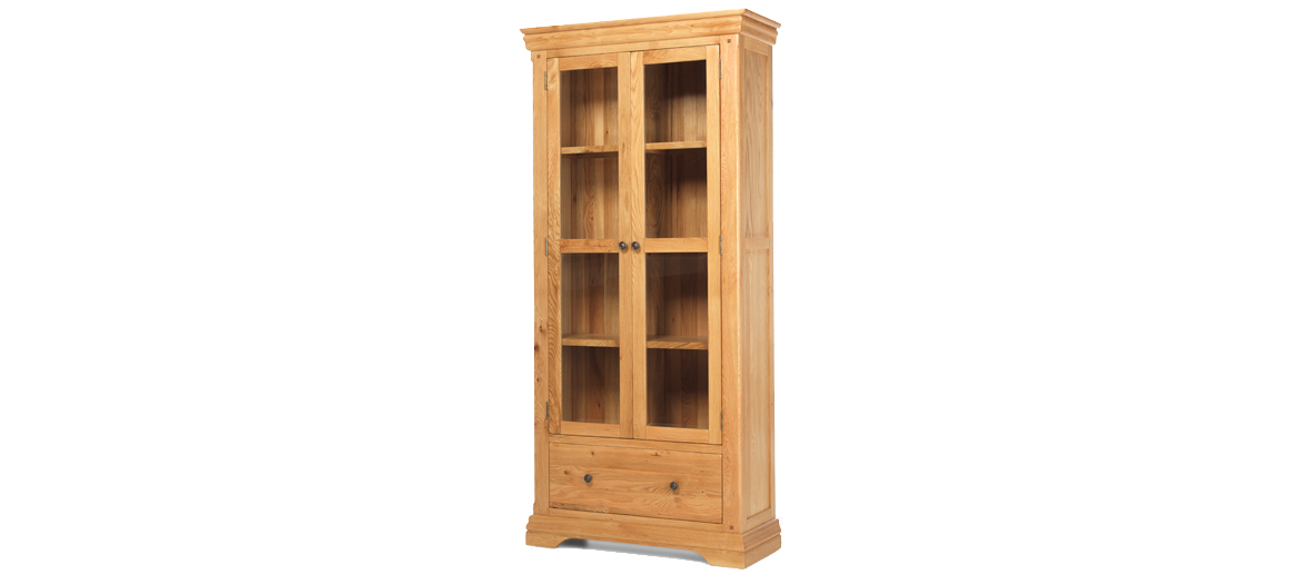 Constance Oak Display Cabinet Quercus Living