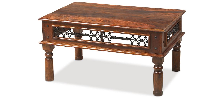 Jali Sheesham 90 cm Coffee Table. Jali Sheesham 90 cm Coffee Table   Quercus Living