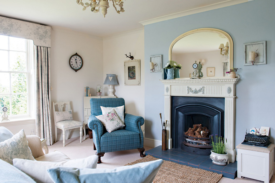 Merveilleux 7 Steps To Creating A Country Cottage Style Living Room