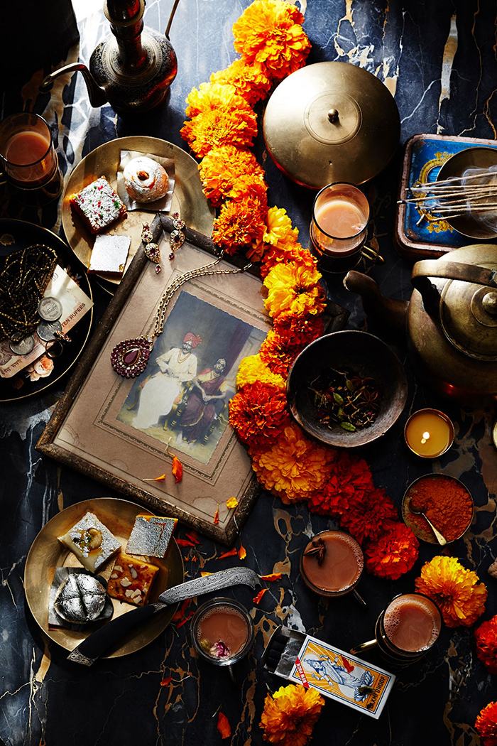 Indian tea Photo by Anna Williams  Prop styling by Amy Wilson