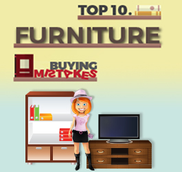 Furniture Buying Mistakes