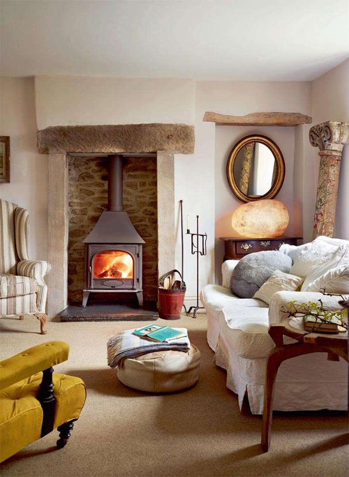 7 Steps To Creating A Country Cottage Style Living Room