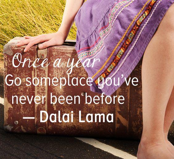 Explore somewhere new