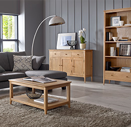 Oak Living Room Ranges