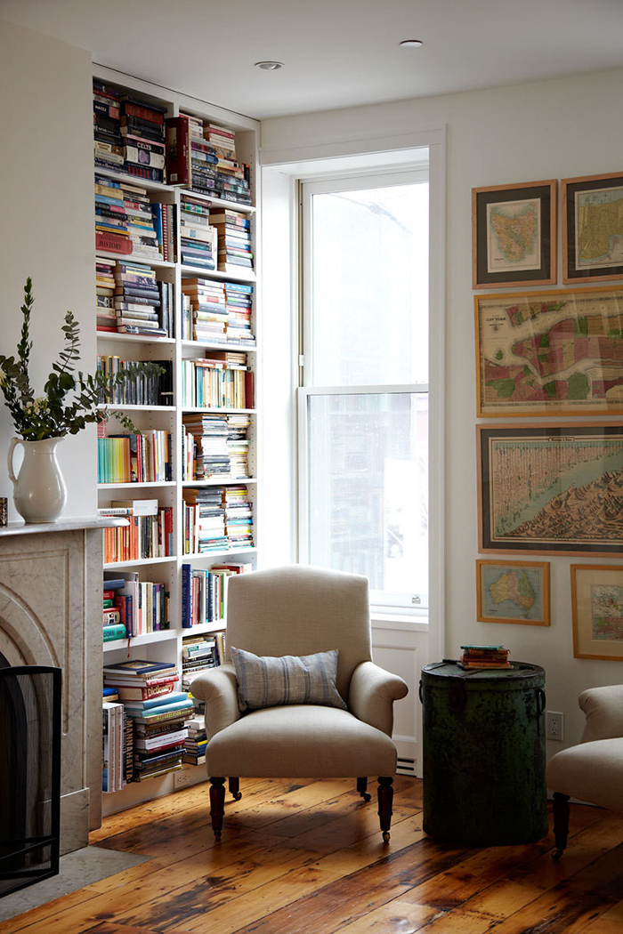 Make A Living Room A Library: How To Make A Small Room Appear Larger